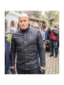 The Man from Toronto Woody Harrelson Leather Jacket