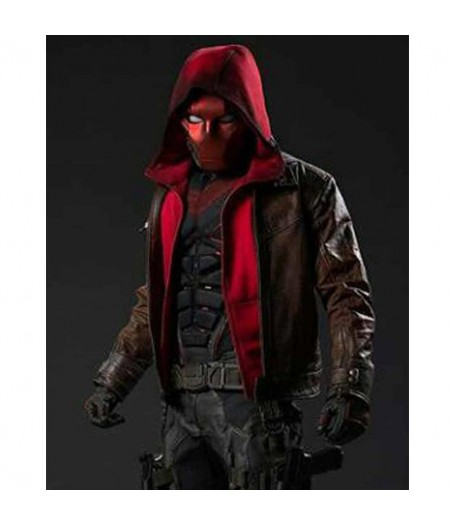 Titans S03 Curran Walters Hooded Jacket