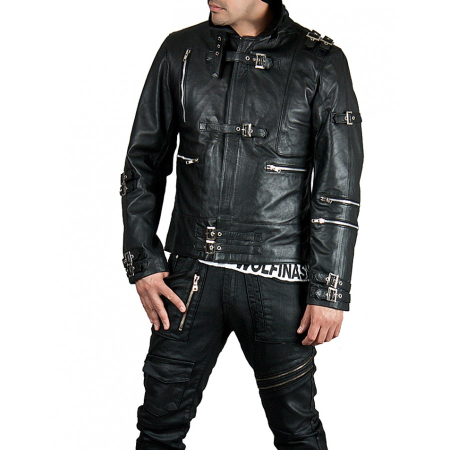 the sale of shoes low priced top-rated cheap Michael Jackson Bad Leather Jacket