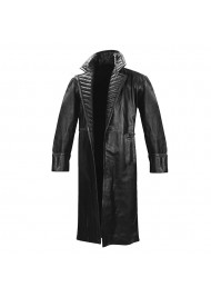 Nick Fury Iron Man 2 Leather Trench Coat