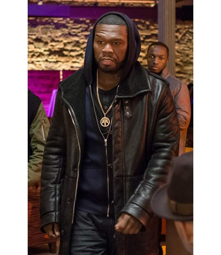 50 Cent Power Shearling Coat