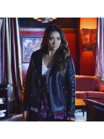 Shay Mitchell Pretty Little Liars Leather Jacket