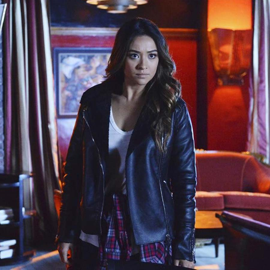 c5e70932c Shay Mitchell Pretty Little Liars Leather Jacket