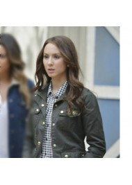 Troian Bellisario Pretty Little Liars Field Jacket