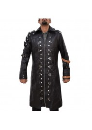 PUBG Leather Trench Coat