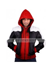 Jason Todd Batman Arkham Knight Red Hood Detachable Hoodie
