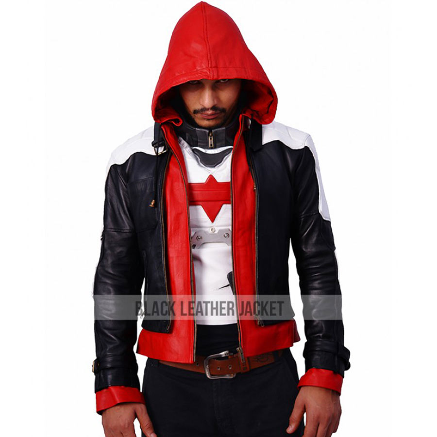 d1f81bce889 Batman Arkham Knight Red Hood Jacket With Vest · zoom · Batman ...