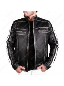 Leon Kennedy Resident Evil Biohazard Vendetta Leather Jacket