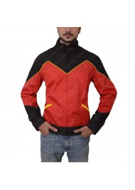 Red Robin Tim Drake Leather Jacket
