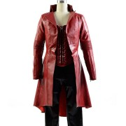 Elizabeth Olsen Scarlet Witch Coat And Vest