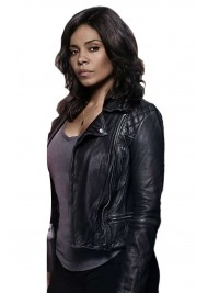 Sanaa Lathan Shots Fired Leather Jacket