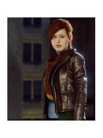Mary Jane Watson Spiderman Game Jacket