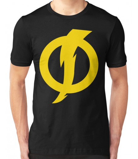 Men's Static Shock Logo Black T-Shirt