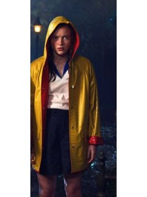 Stranger Things Season 4 Max Mayfield Rain Coat