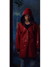 Stranger Things Season 4 Eleven Rain Coat