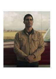 Superman and Lois Clark Kent Cotton Jacket
