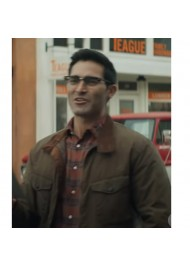 Superman and Lois Tyler Hoechlin Cotton Jacket