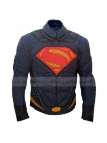 Superman Man of Steel Armour Leather Jacket