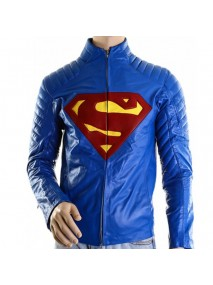 Superman Man Of Steel Royal Blue Jacket