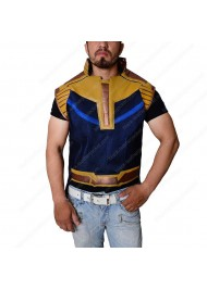Avengers Infinity War Thanos Leather Vest