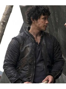 The 100 Bellamy Blake Black Jacket