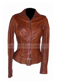 G I Joe The Rise of Cobra Rachel Nichols Leather Jacket