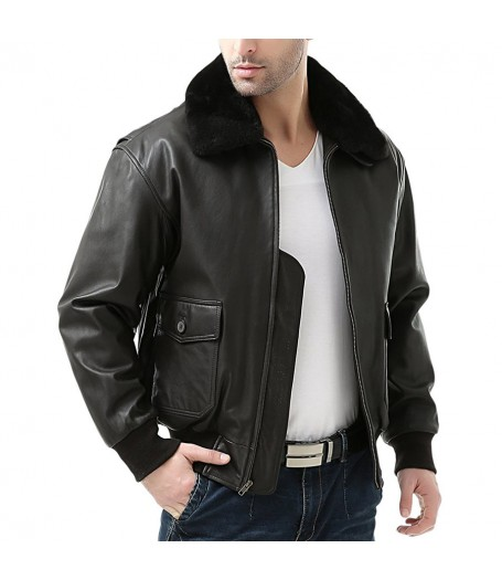 The Expendables 3 Arnold Schwarzenegger Bomber Leather Jacket