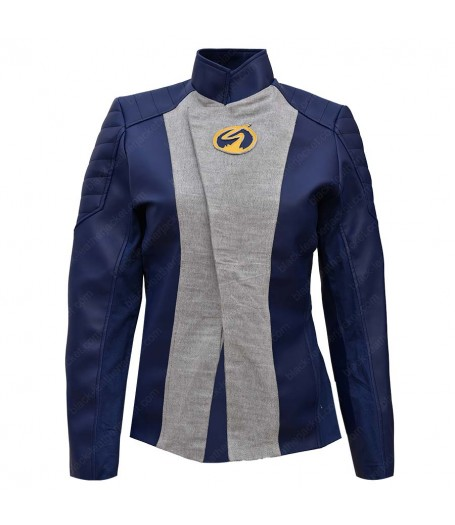 The Flash Nora West Speedster Leather Jacket
