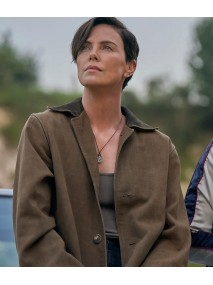 Charlize Theron The Old Guard Coat