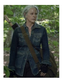 The Walking Dead Season 10 Carol Jacket