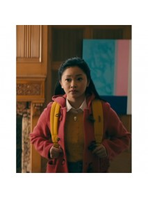 To All the Boys P.S. I Still Love You Lara Jean Pink Coat
