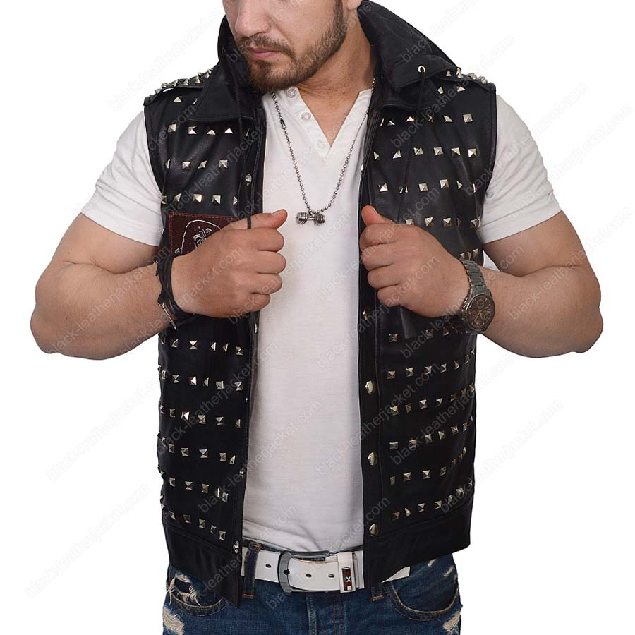 Watch Dogs 2 Wrench Leather Vest