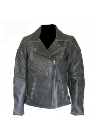 Womens Black Diana leather Jacket