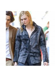 A Rainy Day In New York Elle Fanning Jacket