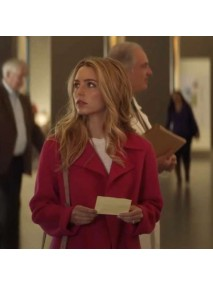 All My Life Jessica Rothe Pink Coat