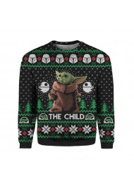 Baby Yoda Christmas Sweater