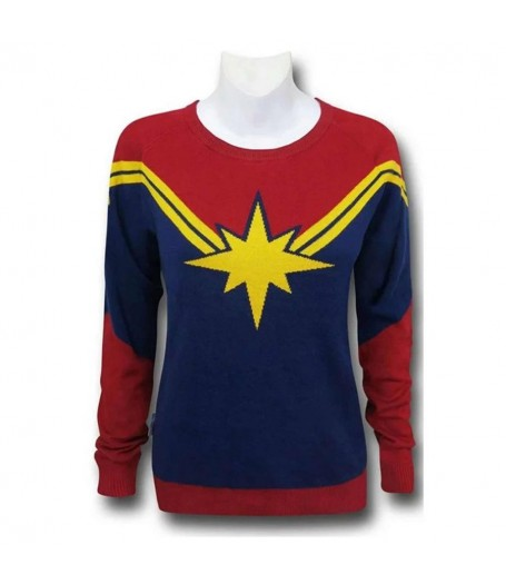 Captain Marvel Women Sweater