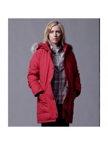 Catherine Durand War of the Worlds Red Parka Jacket