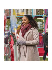 Christmas Comes Twice Tamera Mowry-Housley Coat