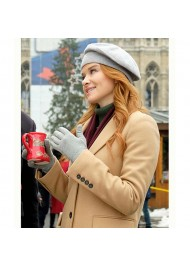Christmas in Vienna Sarah Drew Coat