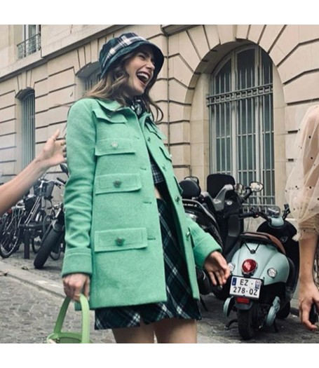 Emily In Paris Green Coat