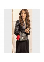 Emily in Paris Lily Collins Black Leather Jacket