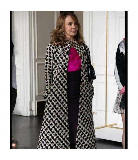 Emily In Paris Philippine Leroy-Beaulieu Coat