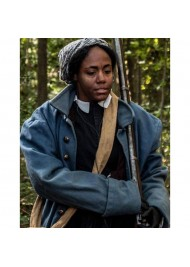 Harriet Tubman Victorian Style Blue Coat