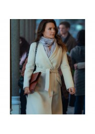 Holiday In The Wild Kristin Davis Trench Coat