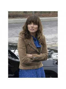 JUDY HALE DEAD TO ME LEATHER JACKET