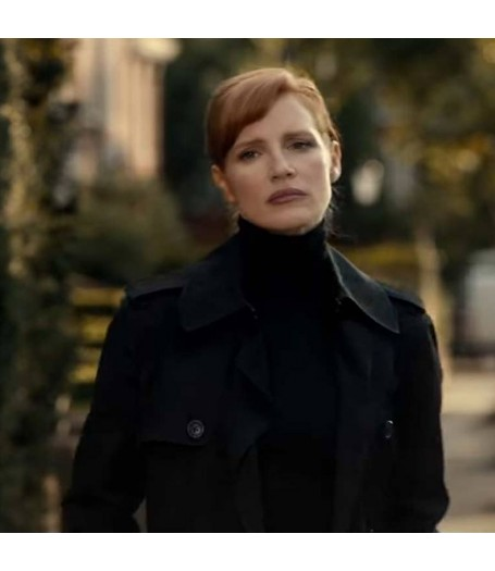 Mace The 355 Jessica Chastain Coat