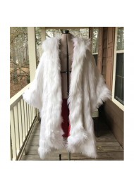 Once Upon a Time Cruella Deville White Fur Coat