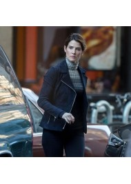 SPIDERMAN FAR FROM HOME MARIA HILL SUEDE LEATHER JACKET