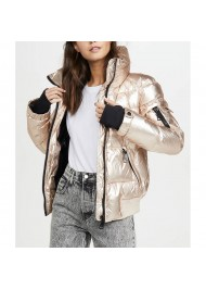 Spinning Out Amanda Zhou Quilted Jacket